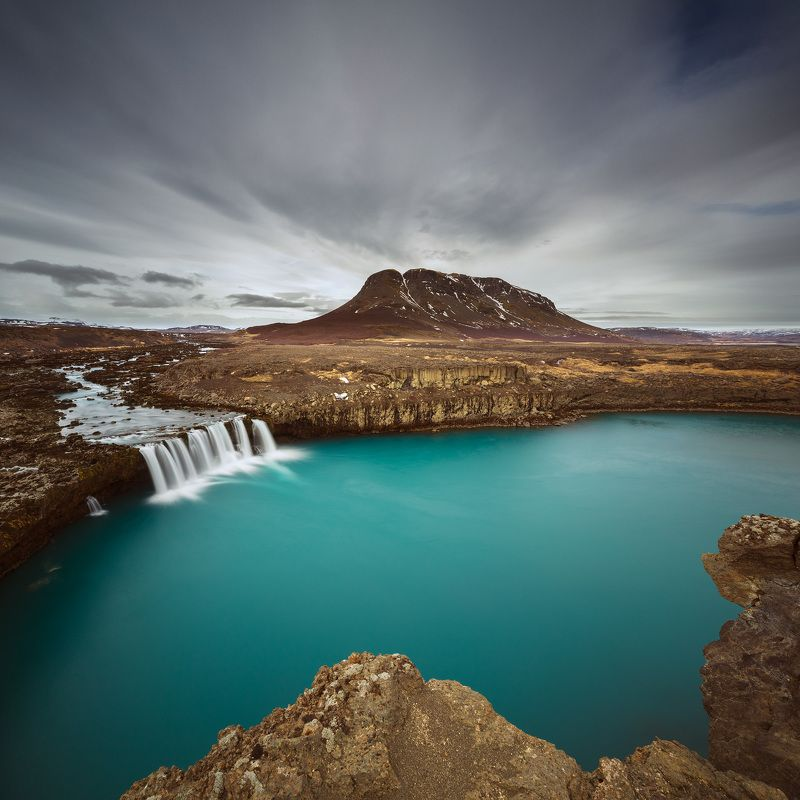 iceland burfell waterfall  Burfellphoto preview
