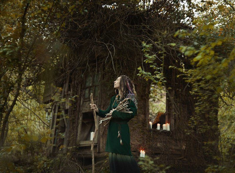 фото, девушка, портрет, лес, сказка, photo, photography, portrait, woman, forest, fairytale, canon Идаphoto preview