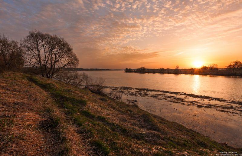 рассвет, природа, пейзаж, дубна Утром ранним.photo preview