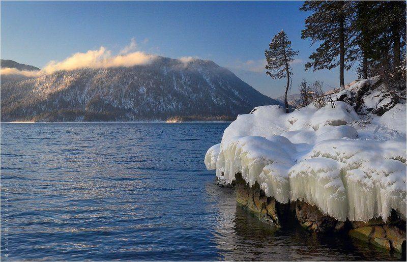 Зимнее утро на Алтын-Кёльphoto preview