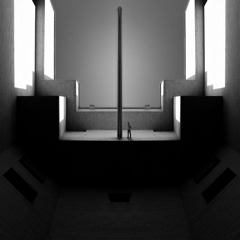 Conceptual, fineart, creative, minimalism, architecture, montage, thespaceinbetween, miladsafabakhsh, The Space in betweenphoto preview