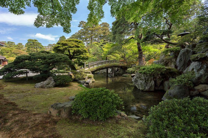 Киото, сад императорского дворцаphoto preview