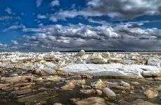 Ледоход,,,, река Обь г.Сургут