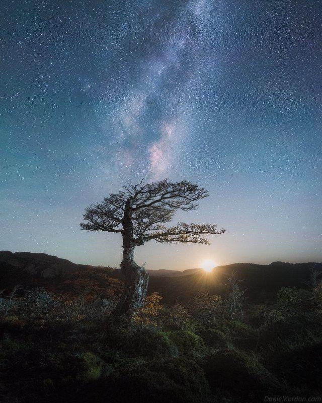 Патагония Восход луны photo preview
