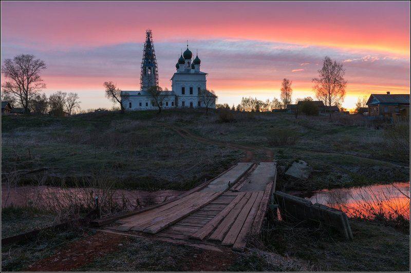 Россия, Ярославская обл,  Осенево Старый мост в Осеневоphoto preview