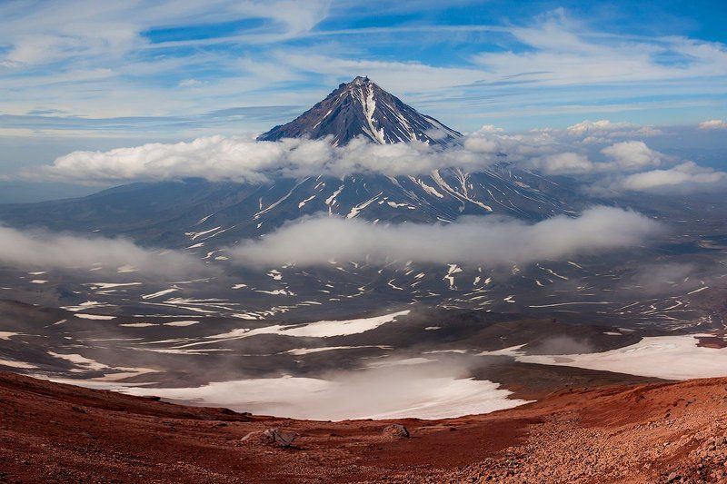 Камчатка, лето, природа, путешествие, вулкан,  Великанphoto preview