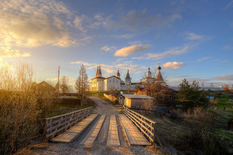 Ферапонтов монастырь. Майский вечер...photo preview