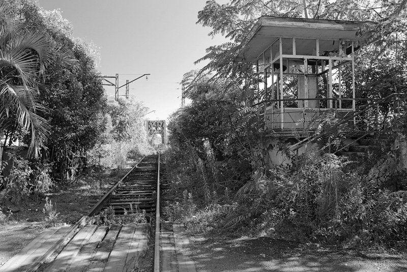 абхазия Заброшенный путь.photo preview