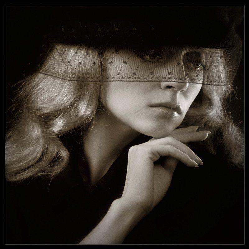 девушка, печаль, студия Осень моих надежд...photo preview