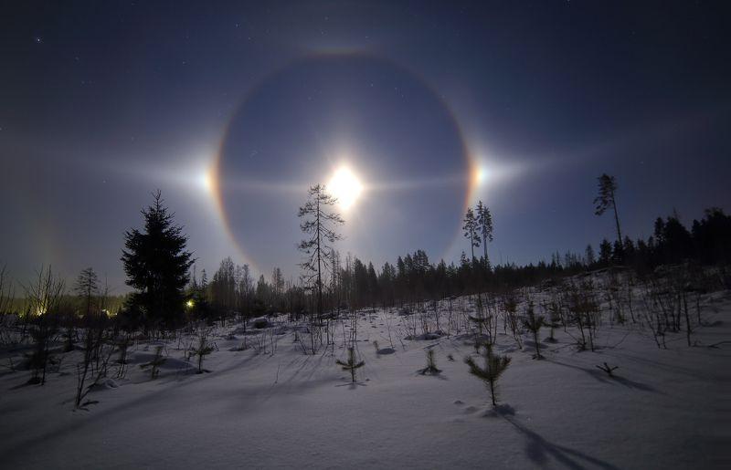 гало Шоу ледяных кристаллов v.3photo preview