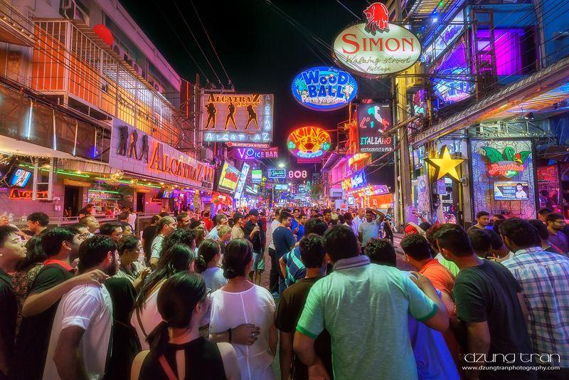 walking,street,nightlife,sex,market Nightlife at Pattaya Walking Streetphoto preview