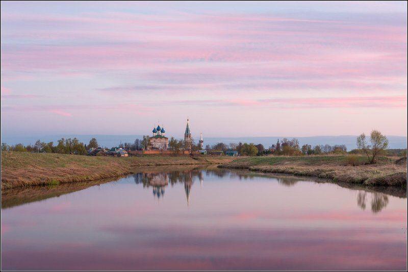 Россия, Ивановская обл, Дунилово Розовый вечерphoto preview