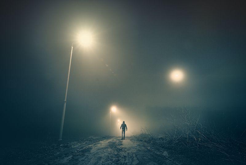 туман пейзаж минимализм тульская область Мистикаphoto preview