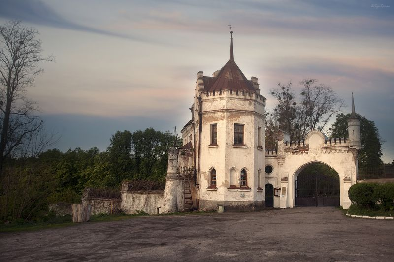 замок Старинная усадьба ...photo preview