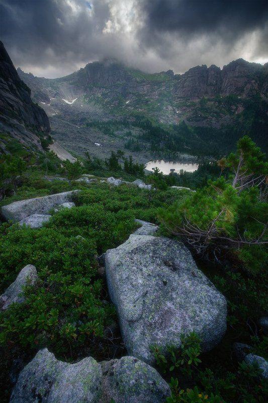 ергаки, горы, саяны, лето, сибирь На горном путиphoto preview
