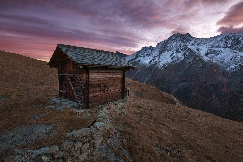 швейцария, альпы, рассвет ***photo preview