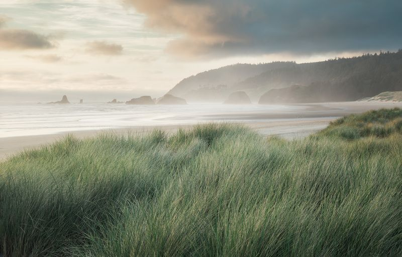 cannon beach Pacific Pastelsphoto preview