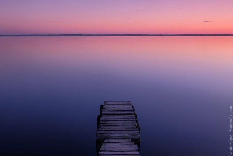 вода,вечер,сумерки,закат,мостки,неподвижность,минимализм,fujifilm Сумеркиphoto preview