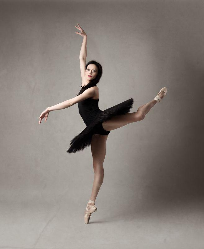 ballet, dancer, posing, studio, ballerina Dancerphoto preview