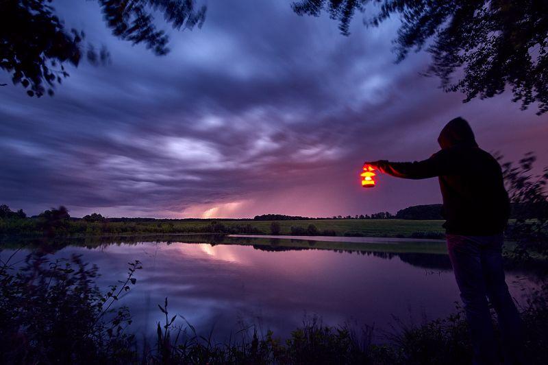 гроза, тула, пейзаж, длинная, выдержка Навстречу Грозеphoto preview
