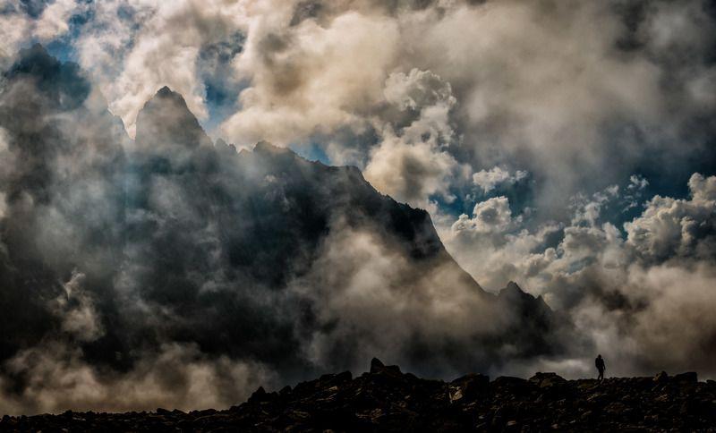 В облаках.photo preview