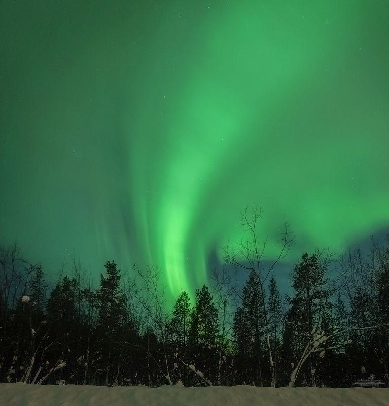 северное сияние Торнадоphoto preview