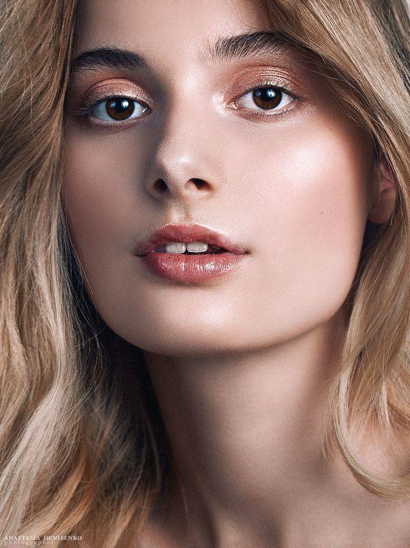 бьюти съемка портрет глянец красивая девушка модель фотограф москва студийная съемка портфолио Аллаphoto preview