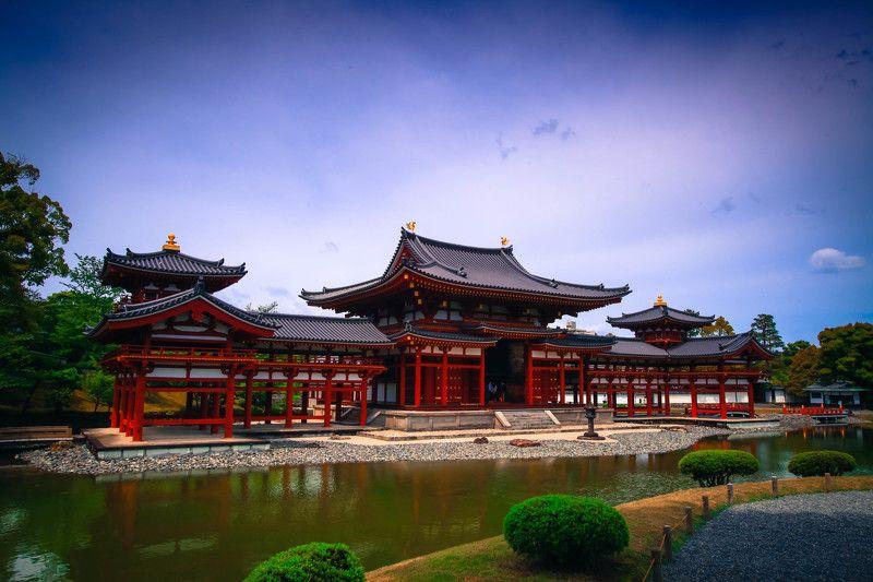 #храм #япония Цвет. Красный.photo preview