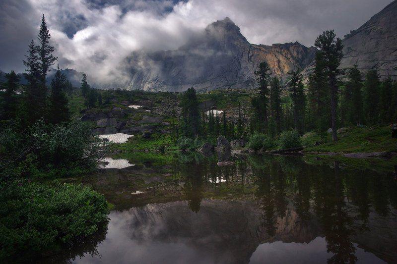 ергаки, горы, саяны, лето, сибирь, лазурное После дождя на Лазурномphoto preview