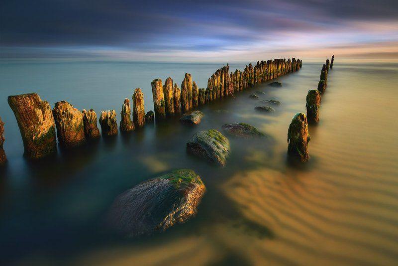 polska, , ,morze,palisada ,trójmiasto, West windphoto preview