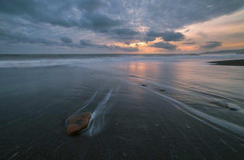 черное море сочи апрель вечер шторм Апрельский шторм 2photo preview
