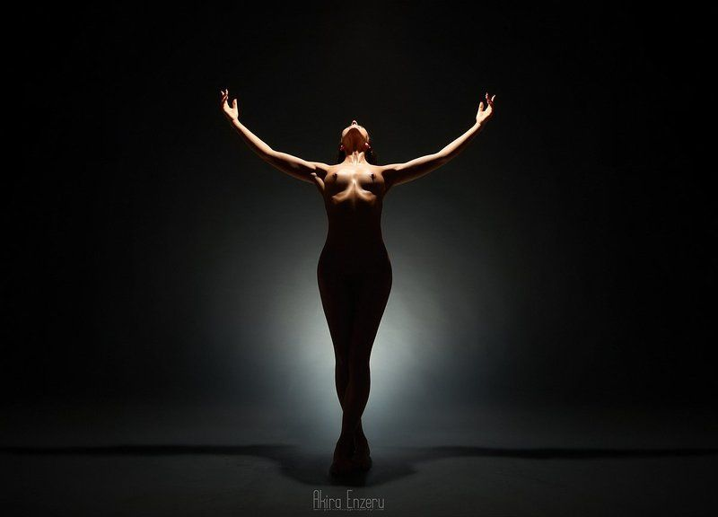 ballerina, dance, dancing, portrait, nude, studio ***photo preview