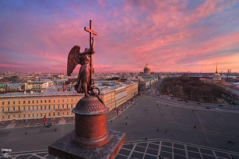 Александровская колонна, Дворцовая площадьphoto preview