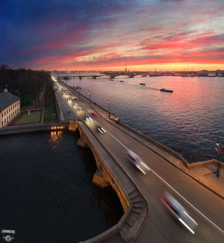 Прачечный мост, Дворцовая набережнаяphoto preview