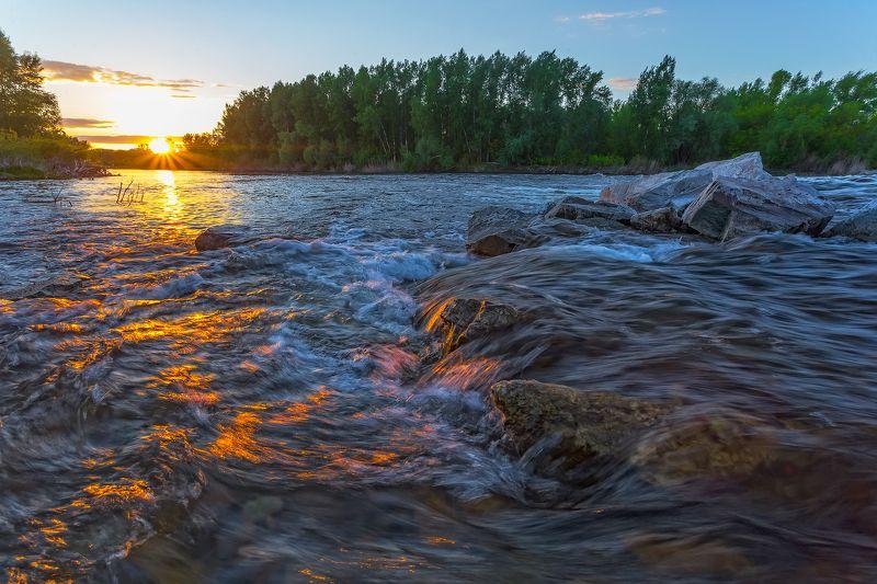 Тихий вечер на Уралеphoto preview