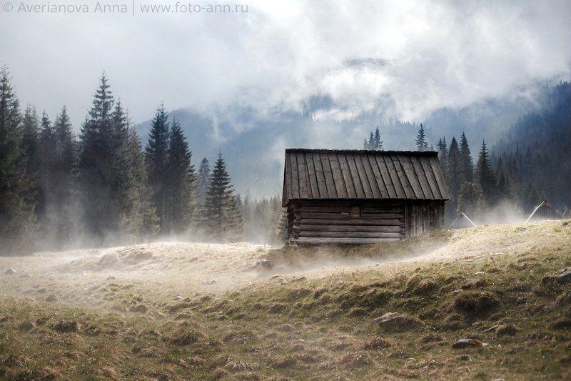 Долина, дом, горы, природа, Польша Долинаphoto preview