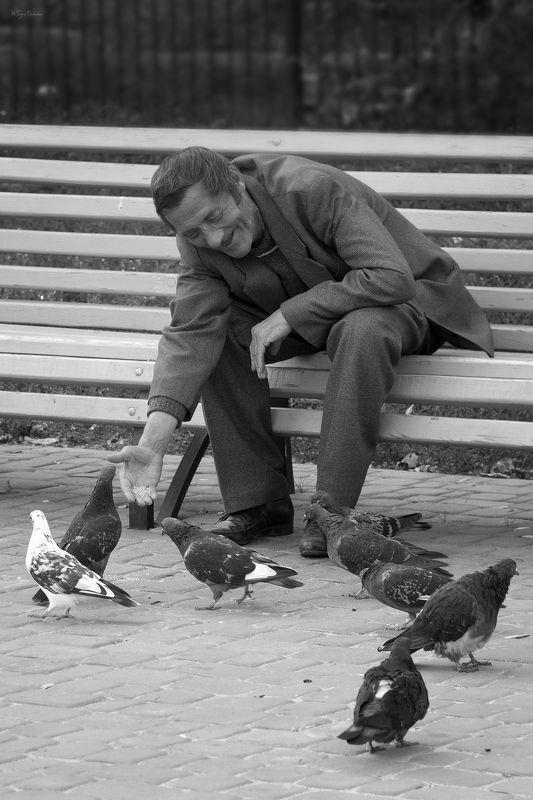 человек,голуби Любовь к голубям ...photo preview