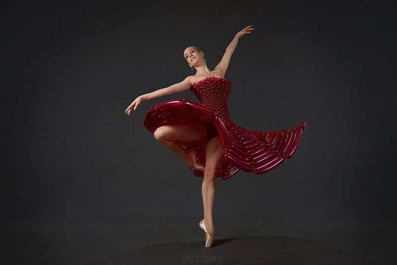 ballerina, dance, dancing, portrait, studio Моё Маленькое Шариковое Платьеphoto preview