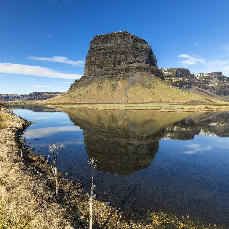 lomagnupur mountain, iceland Lomagnupur mountain (767m), Icelandphoto preview