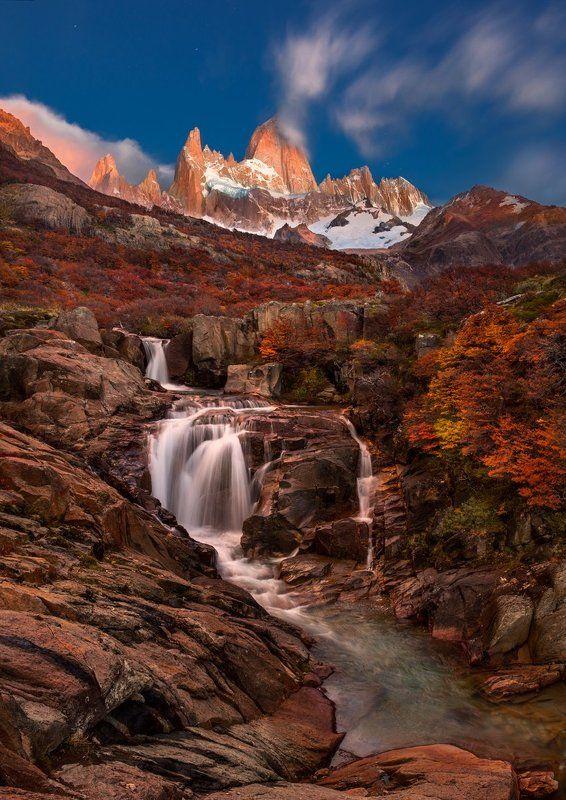sv-phototravel.com, патагония Cerro Chalten - курящаяся гораphoto preview