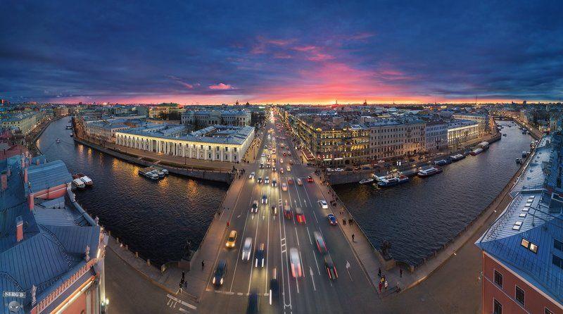 Невский проспект, Фонтанка, Аничков мостphoto preview