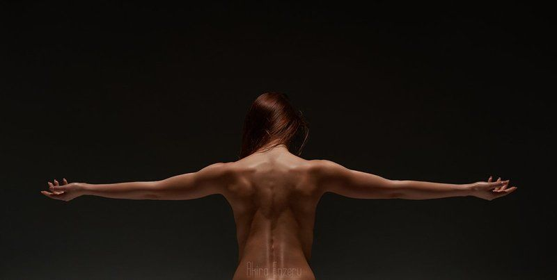 portrait, nude, studio ***photo preview