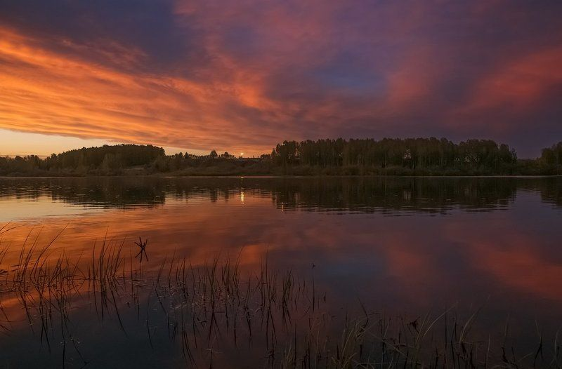 Вечер на озереphoto preview
