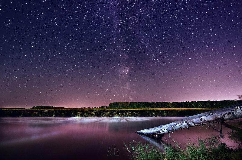 млечныйпуть, пейзаж, ночь Тихая Ночьphoto preview
