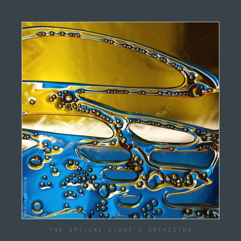 абстракция, стекло, музыка across the universephoto preview