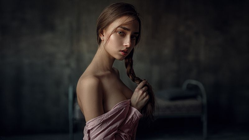 портрет, арт, модель, portrait, art Катяphoto preview