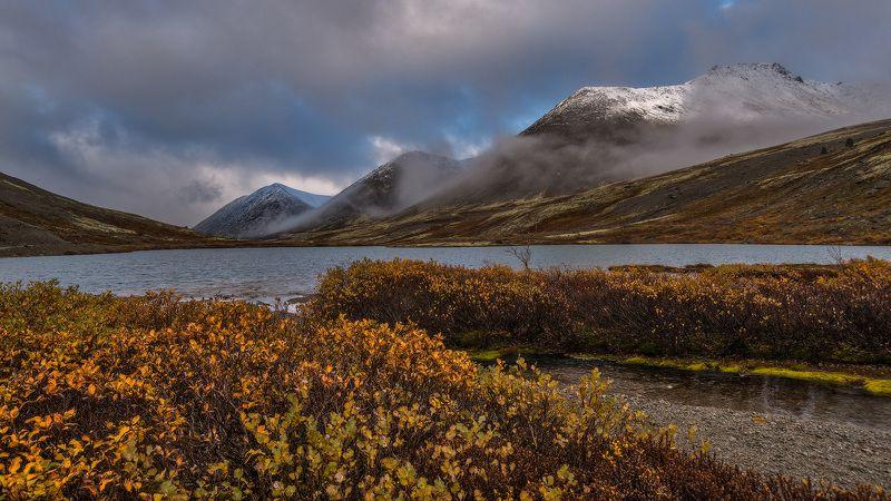 хибины, предзимье, осень, кольский, север, заполярье, Осенний день.photo preview
