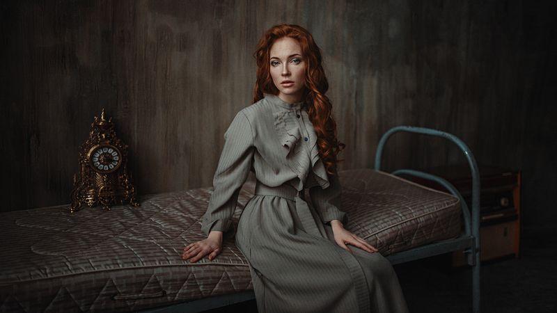 портрет, арт, модель, portrait, art Оксанаphoto preview