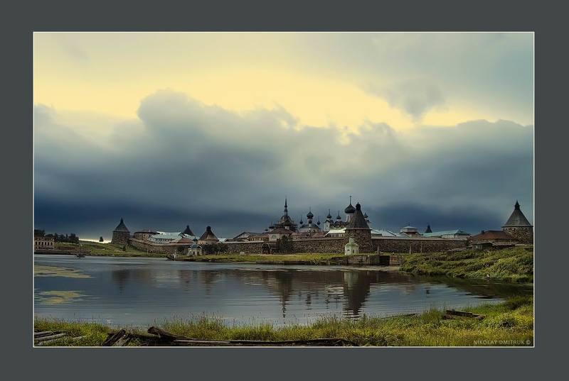 вечер. остров Соловкиphoto preview