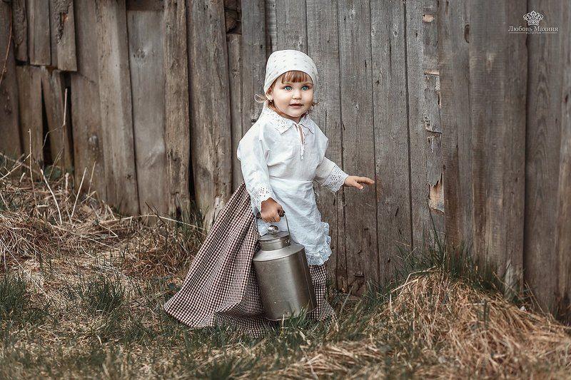 Маленькая молочницаphoto preview